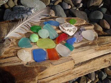Seaglass Photo at Beach