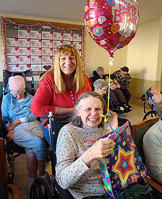 Birthday Parties and Holiday Celebrations at Care Facilities